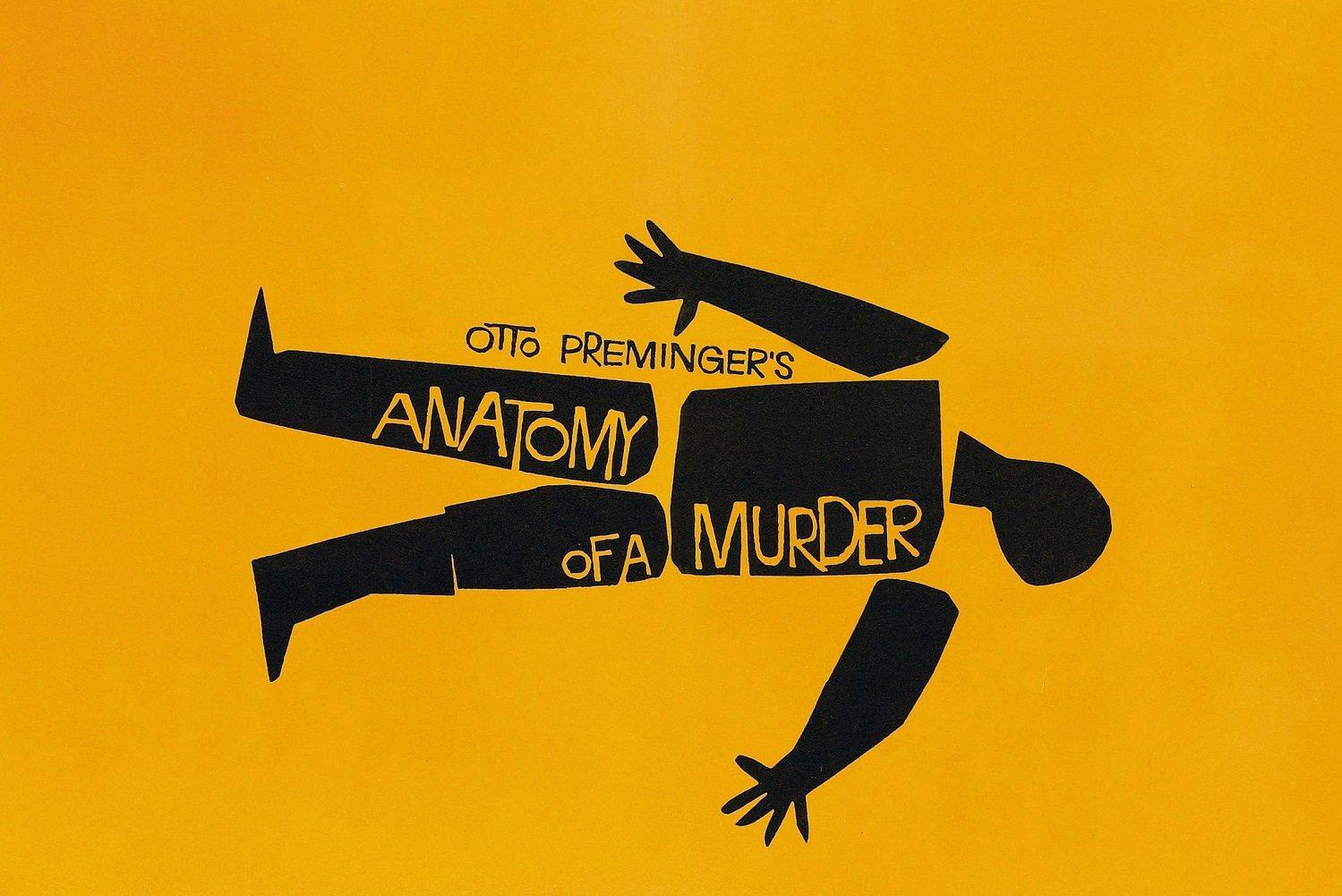 Anatomy Murder Poster