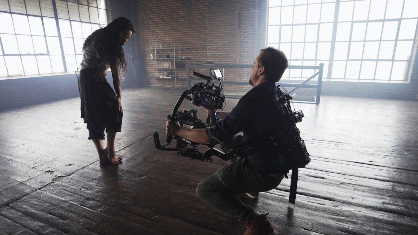 filming dancer